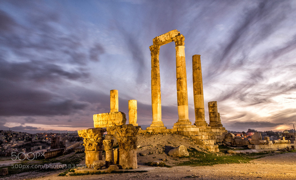 Photograph The Temple of Herclues by Abdullah Suleiman on 500px