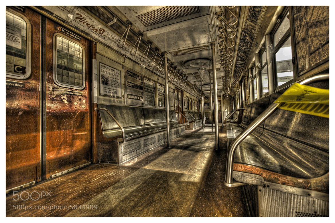 Photograph No. 9068 subway car / R33 Series - Powerles by Logan Hicks on 500px