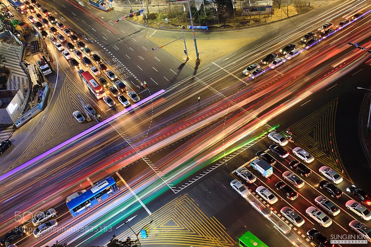 Photograph Rainbow on the road by Sungjin Kim on 500px