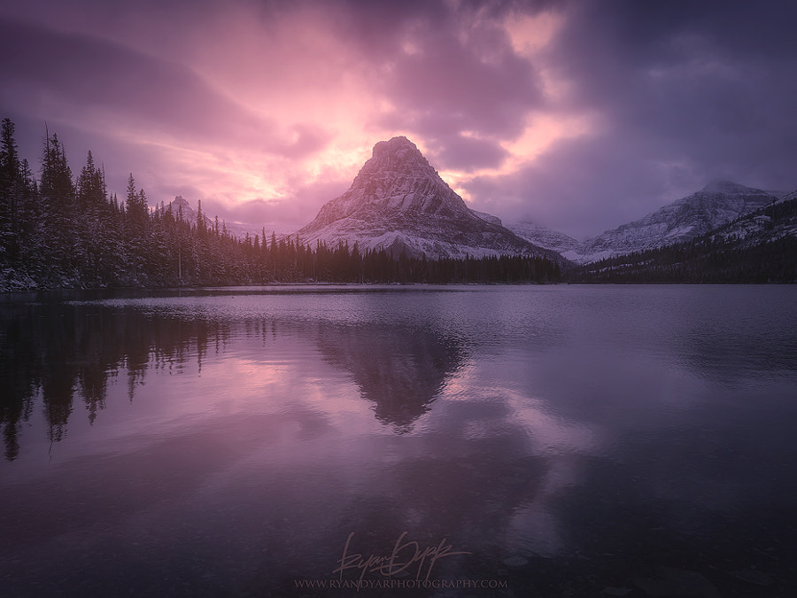 Photograph Falling Winter by Ryan Dyar on 500px