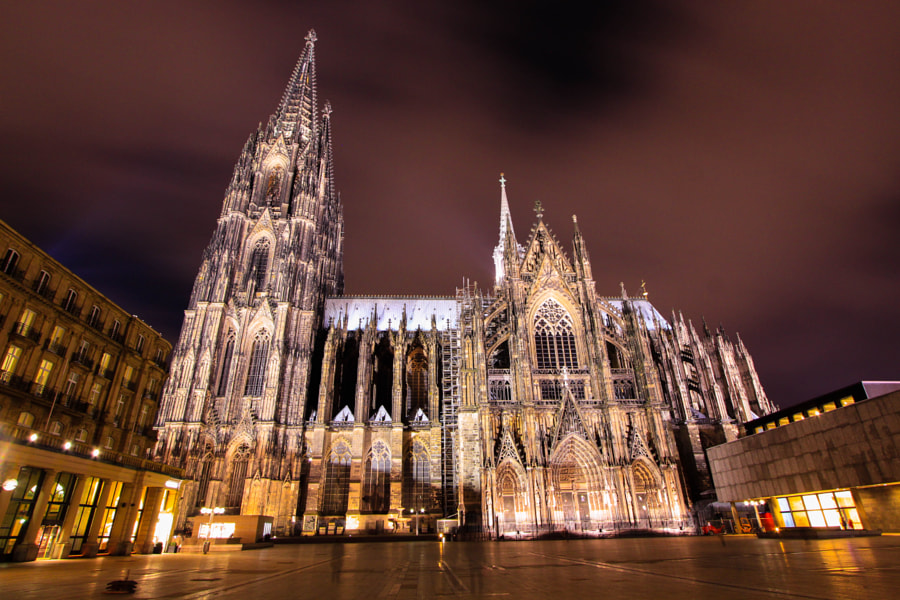 Kölner Dom by Musa GULEC on 500px.com
