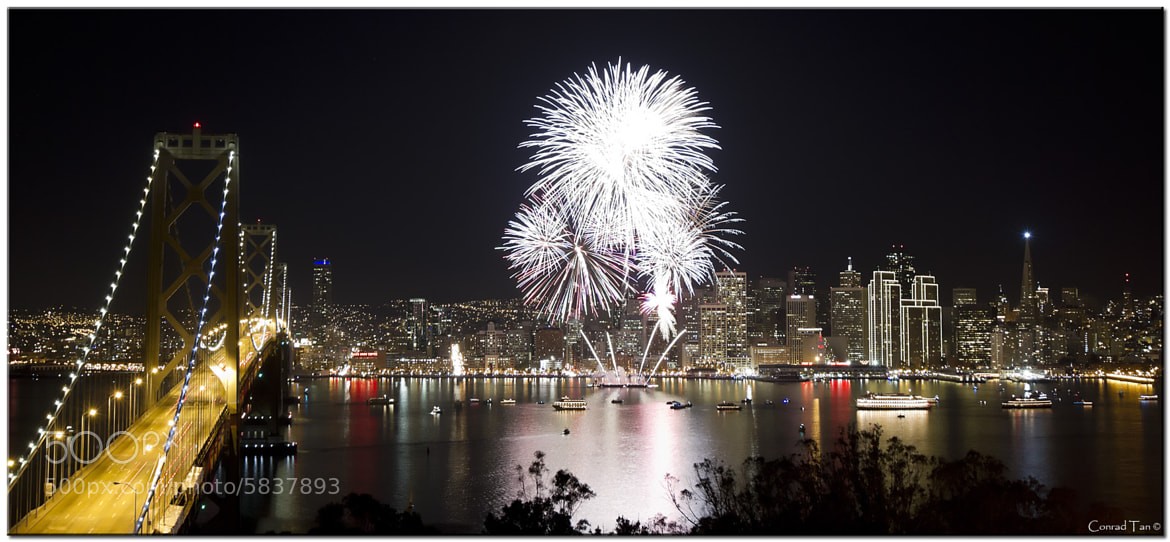 Photograph New Year's Eve in San Francisco by Conrad Tan on 500px
