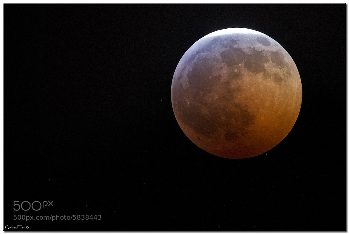Photograph Lunar Eclipse by Conrad Tan on 500px