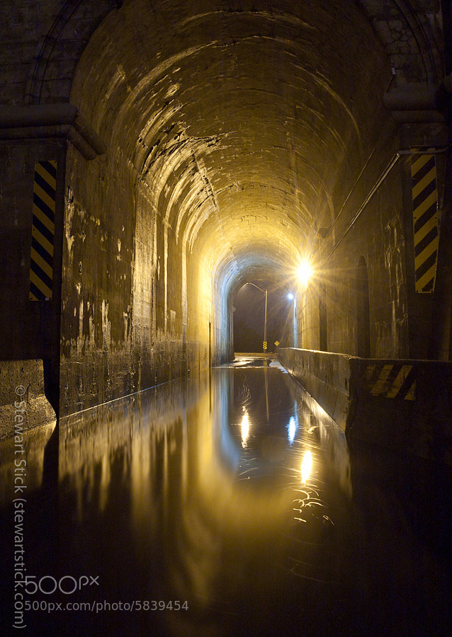 Flooded Liftlock Tunnel by Stewart Stick (stickshots) on 500px.com