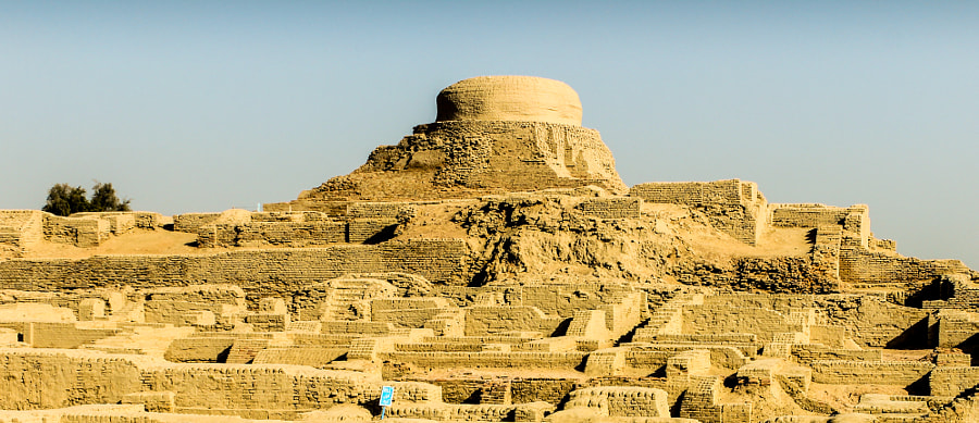 Photograph Budha Stupa at Mohenjo-daro, Pakistan by Sanjay Bhagia on 500px