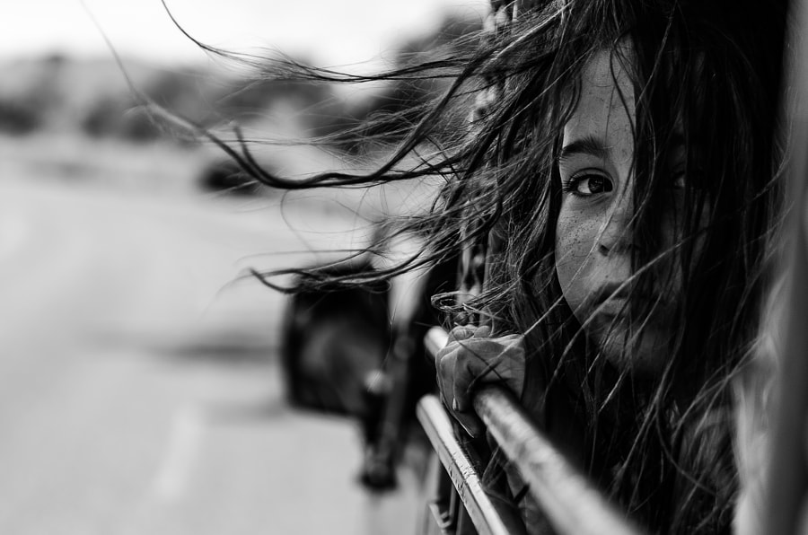 black and white portraits - Photograph Far away from home by Tomasz Solinski on 500px