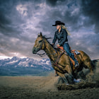 Постер, плакат: Miss Rodeo Idaho Erica Greenwood