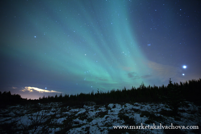 Photograph Natural phenomenon - Aurora borealis in Iceland by Marketa Kalvachova on 500px