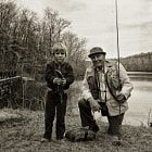Kurt and Poppy go fishing