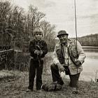 Kurt and Poppy go fishing