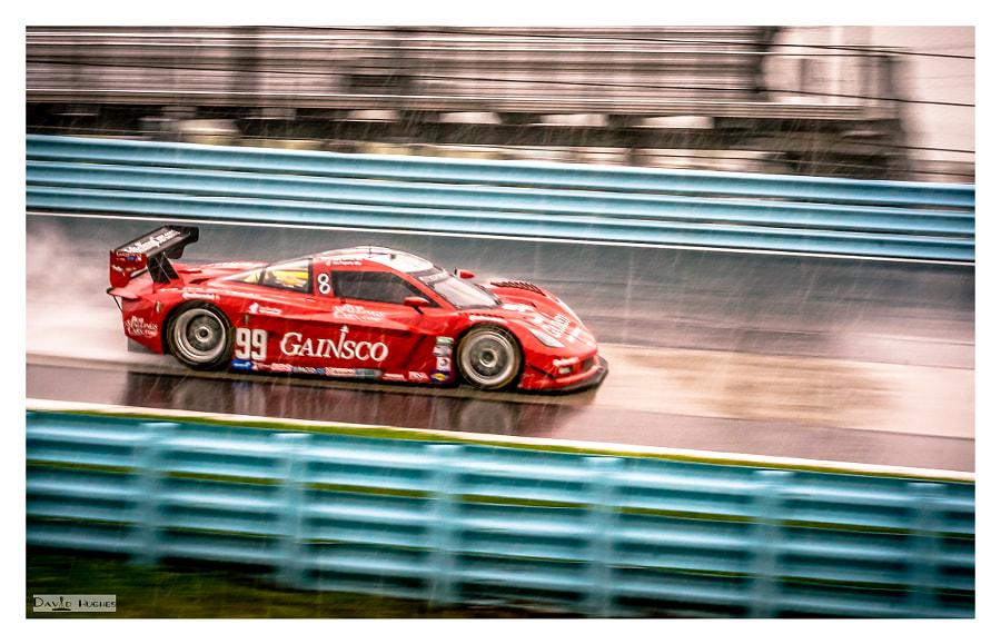 Rainy 2013 Gainsco Corvette DP