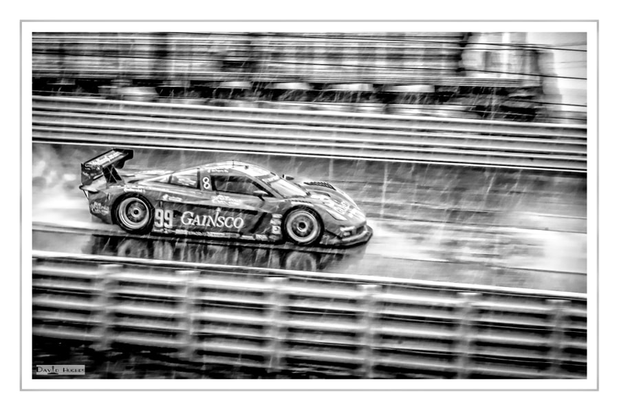 2013 Gainsco Corvette DP in the Rain-bw
