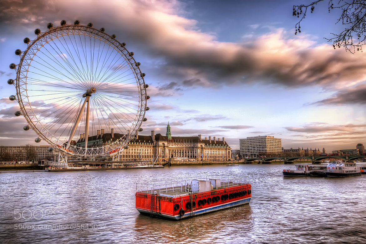 Photograph The London Eye by Christopher Bowler on 500px