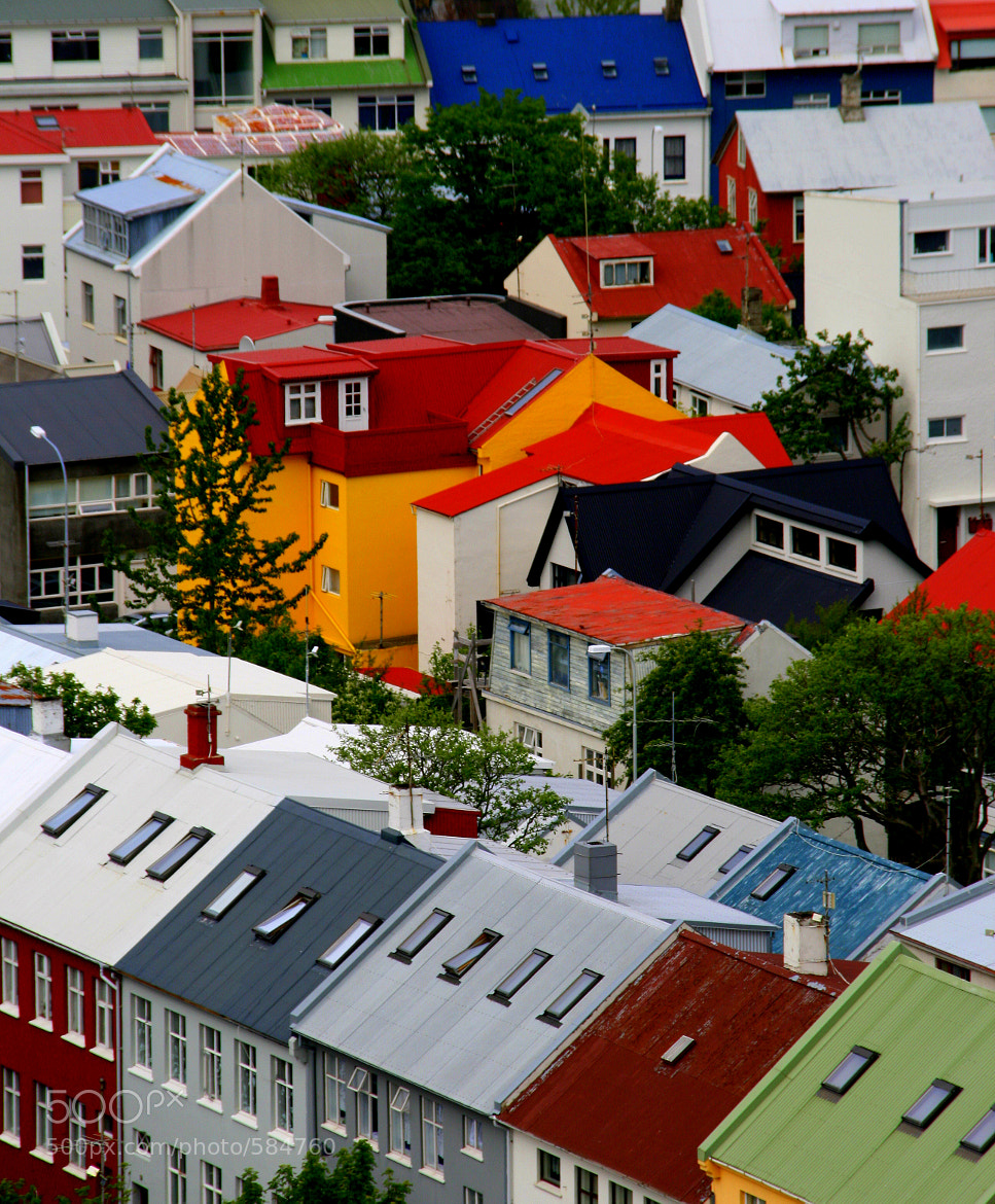 Photograph Reykjavik roof tops. by Len Scapov on 500px