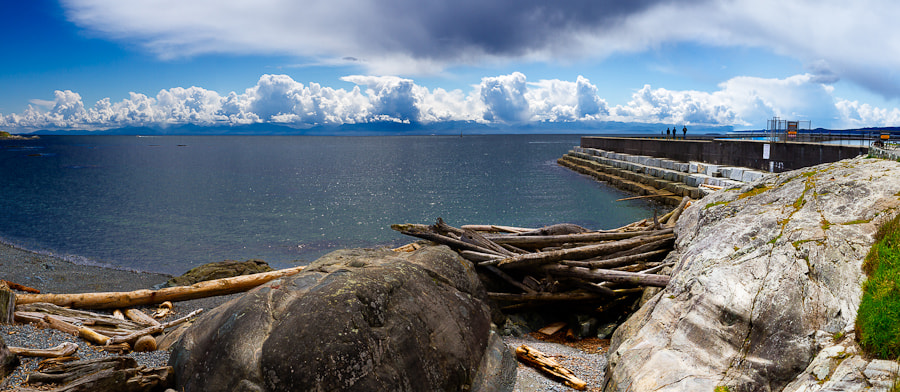 Photograph A Breakwater in the Weather by Terrance Lam on 500px