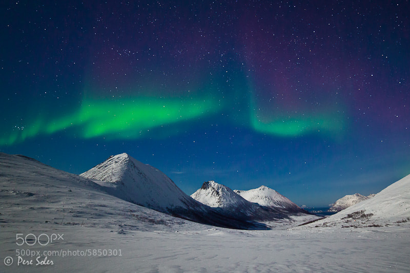 Photograph The Dance of the Northern Lights by Pere Soler on 500px