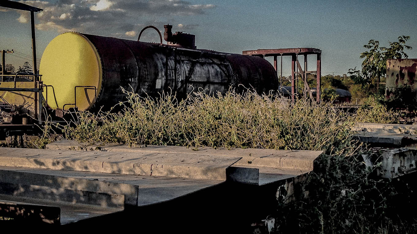 Photograph Rusty Train Relic by Glenda Stewart on 500px