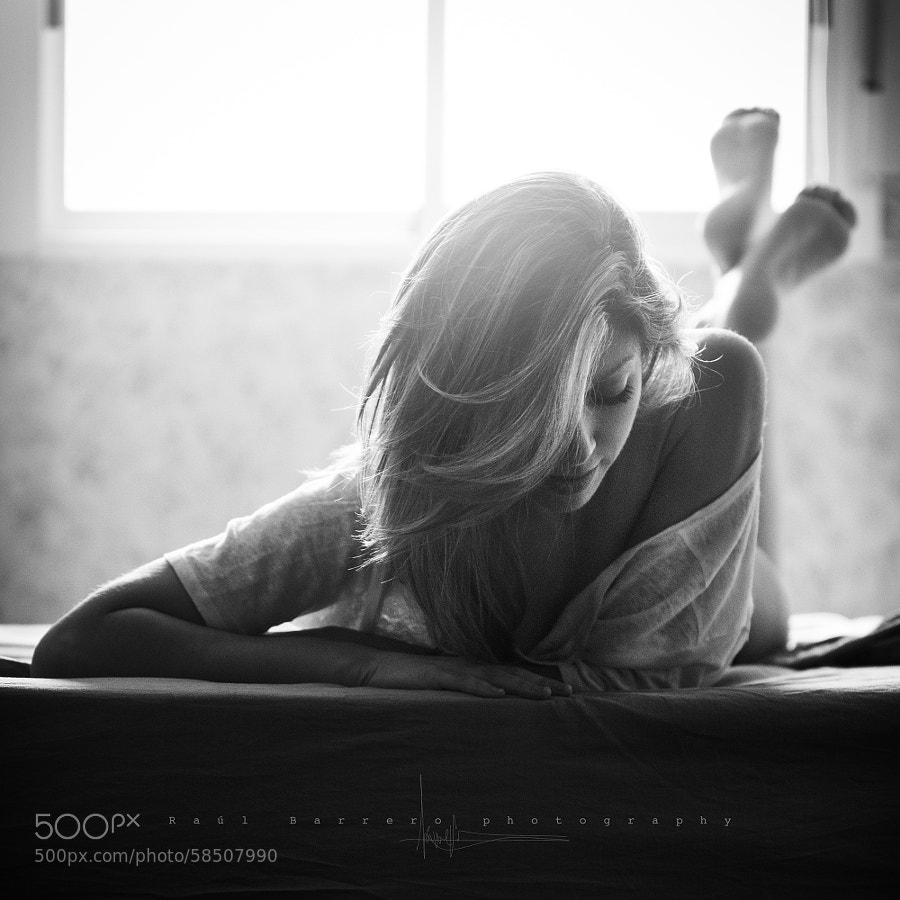 Morning black & white session by Raúl Barrero