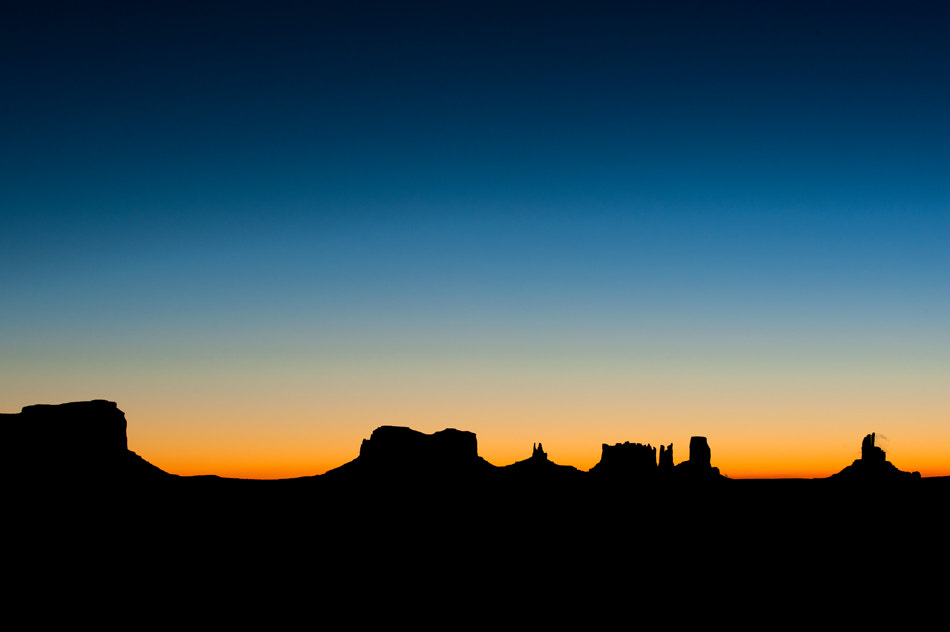 Photograph Monument Valley wakes up by Mathilde Guillemot on 500px