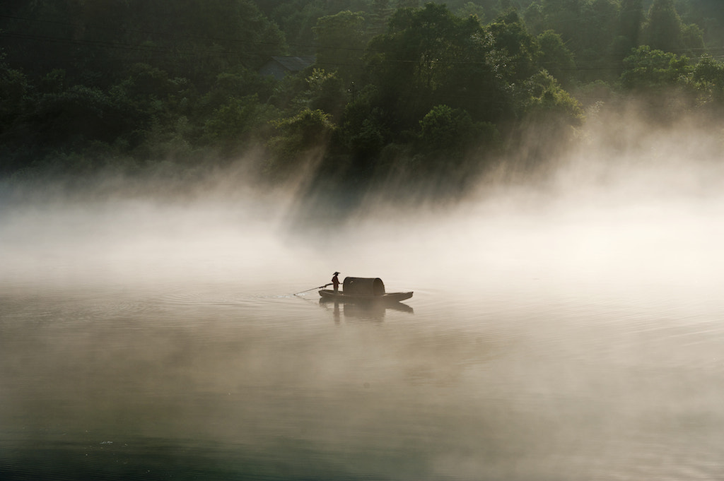 """Photograph Misty River """"小東江"""" by CK NG on 500px"""