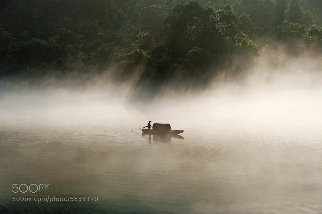 "Photograph Misty River ""小東江"" by CK NG on 500px"