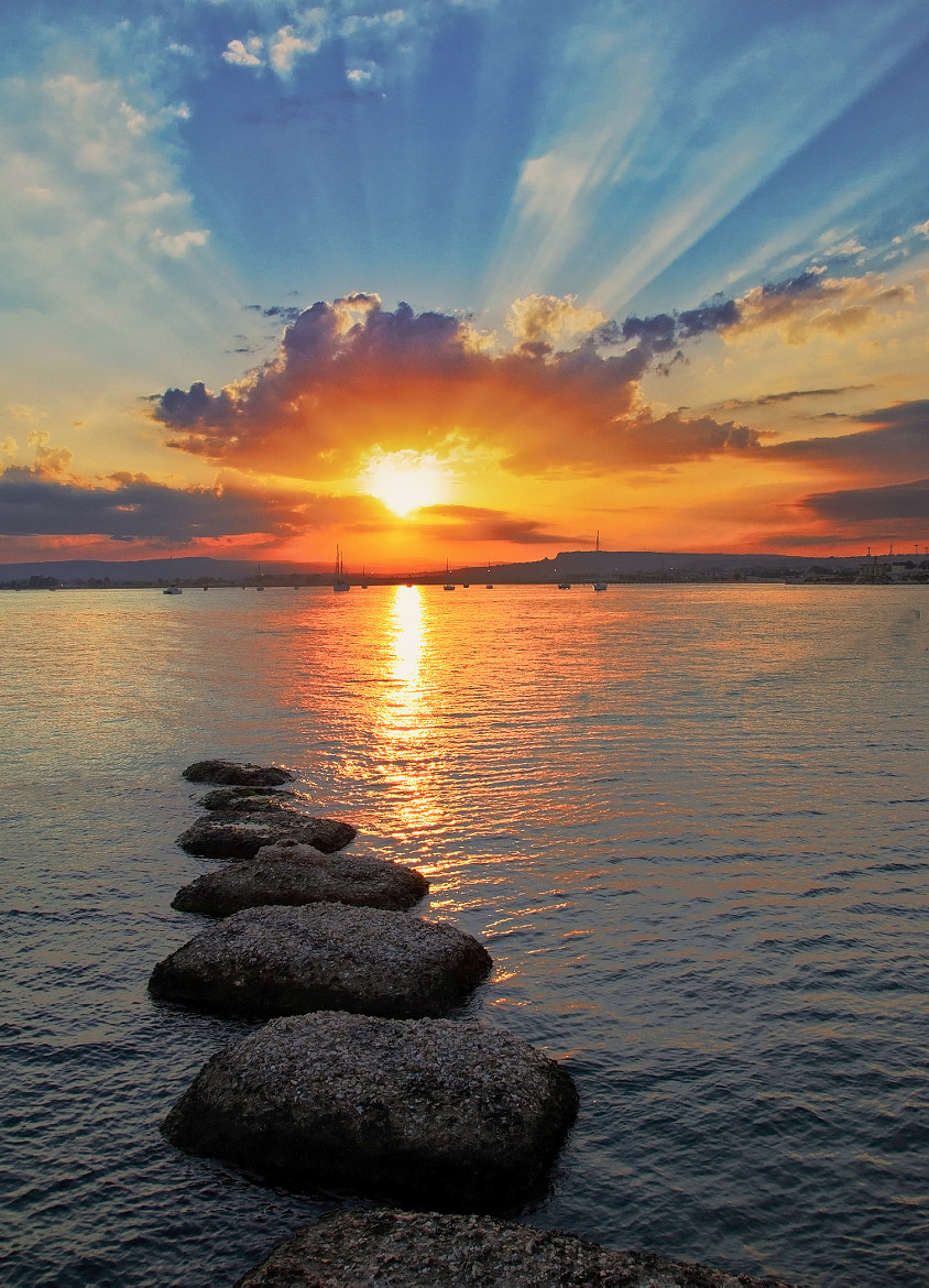 Photograph Sunset at Syracuse by Emanuele Torrisi on 500px