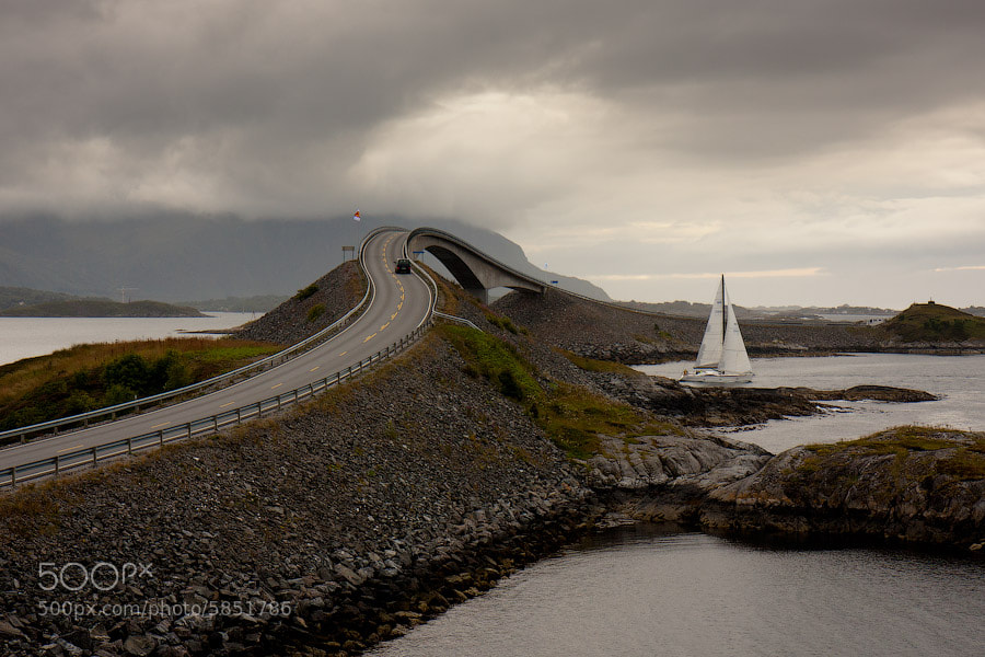Photograph Atlantic Ocean Road by Alexander Dragunov on 500px