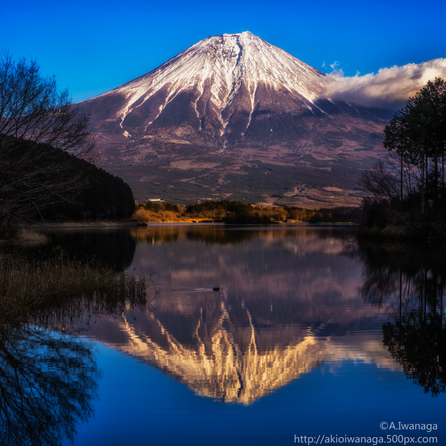 Fuji upside down(逆富士)