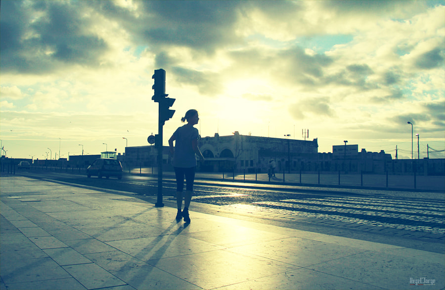 Photograph jogging by Hegel Jorge on 500px