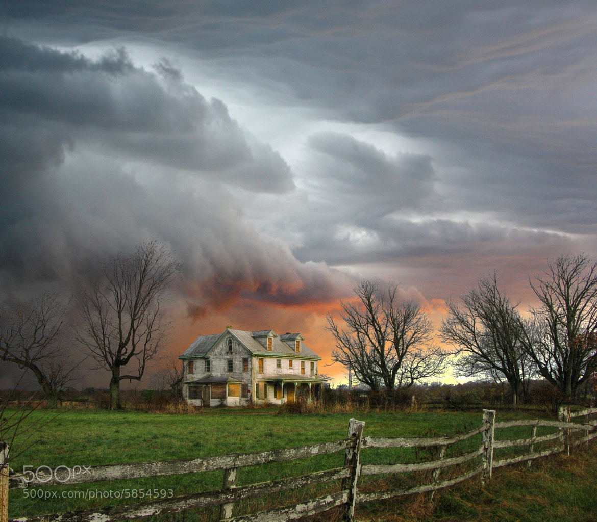 Photograph Approaching Storm by Dustin Farnum on 500px
