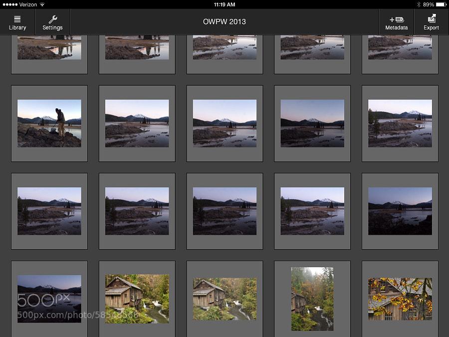 Photograph PhotosInfoPro on iPad by Jeff Carlson on 500px