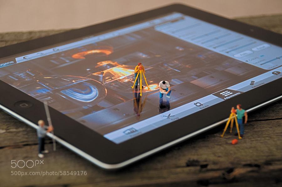 Photograph Editing Photos on an iPad by Jeff Carlson on 500px