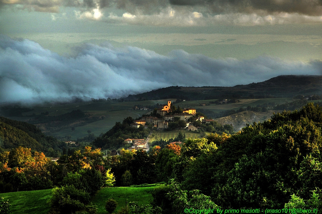 Photograph around here they say,The sun kisses the wonderful things ... Montecorone - (Zocca modena italy) _527 by primo masotti on 500px