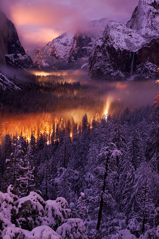 Photograph Winter in Yosemite by Phil Hawkins on 500px