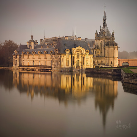 Castle in Chantilly.France