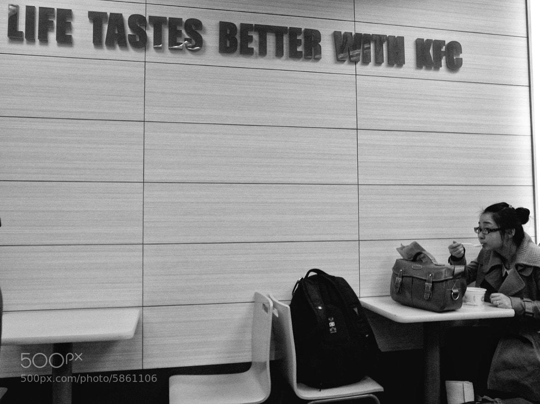 Photograph Life testes better with KFC by Michael Østergaard Johansen on 500px