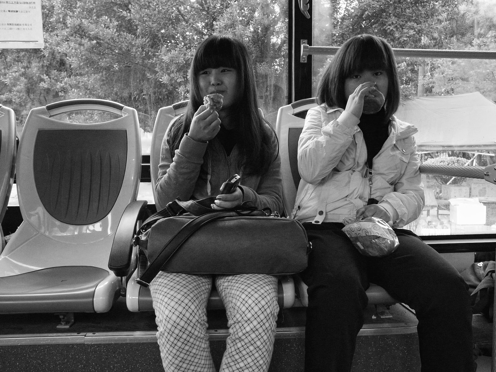 Photograph Chinese girls in a local bus by Michael Østergaard Johansen on 500px