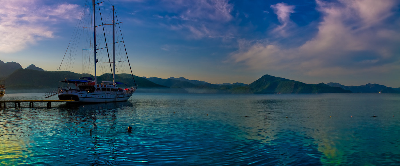 Photograph One morning on the Aegean Sea by Boris Kulizhskiy on 500px