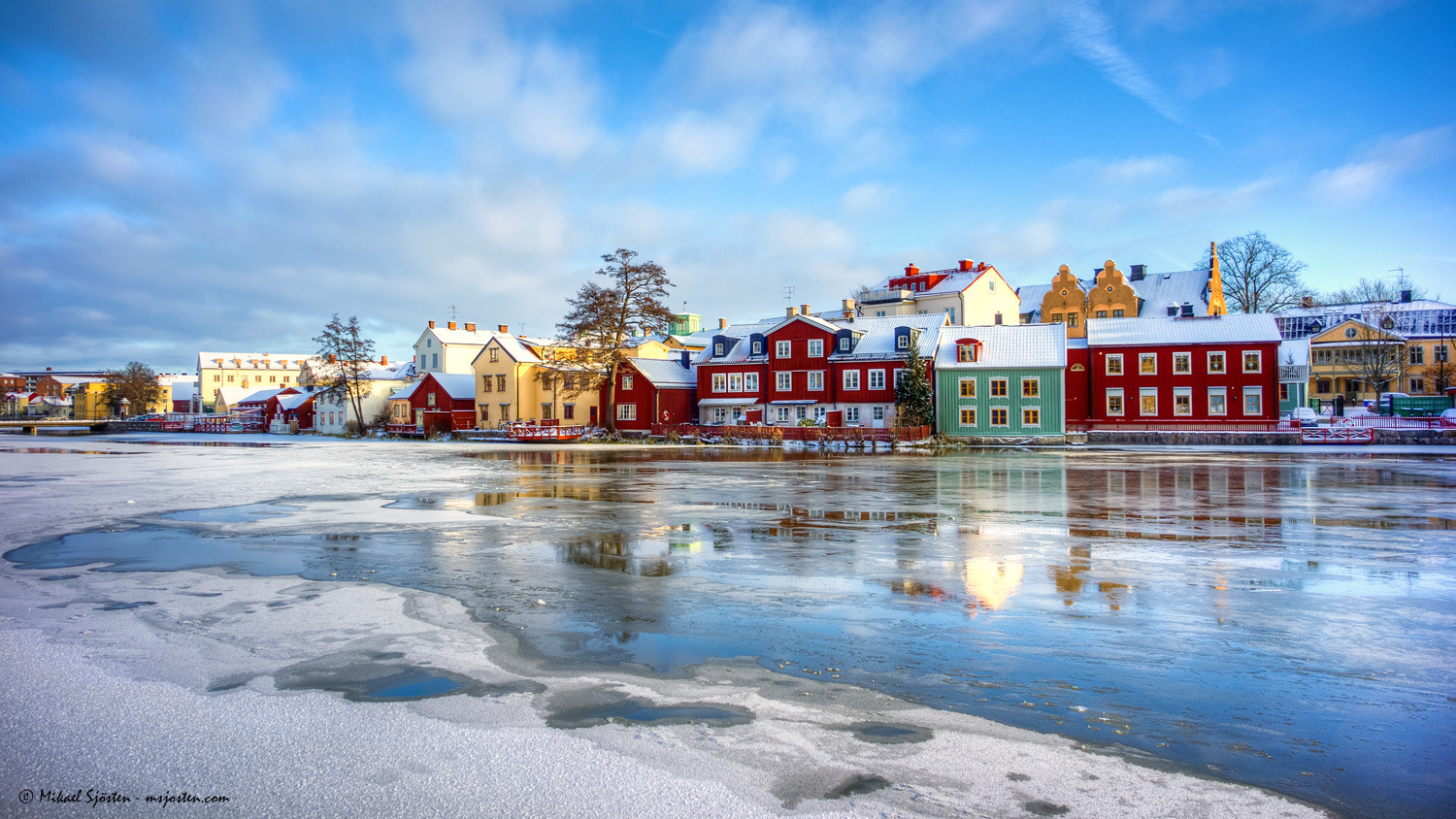 Photograph Winter in old town by Mikael Sjösten on 500px