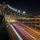 Постер, плакат: The Brooklyn Bridge