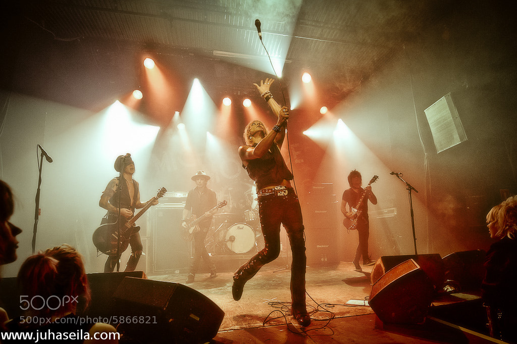 Photograph Michael Monroe Band by Juha Seila on 500px