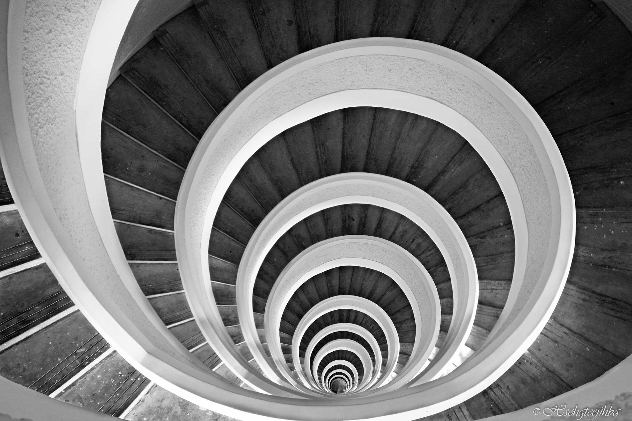 Photograph Staircase Hypnosis by Abhijeet Ghosh on 500px