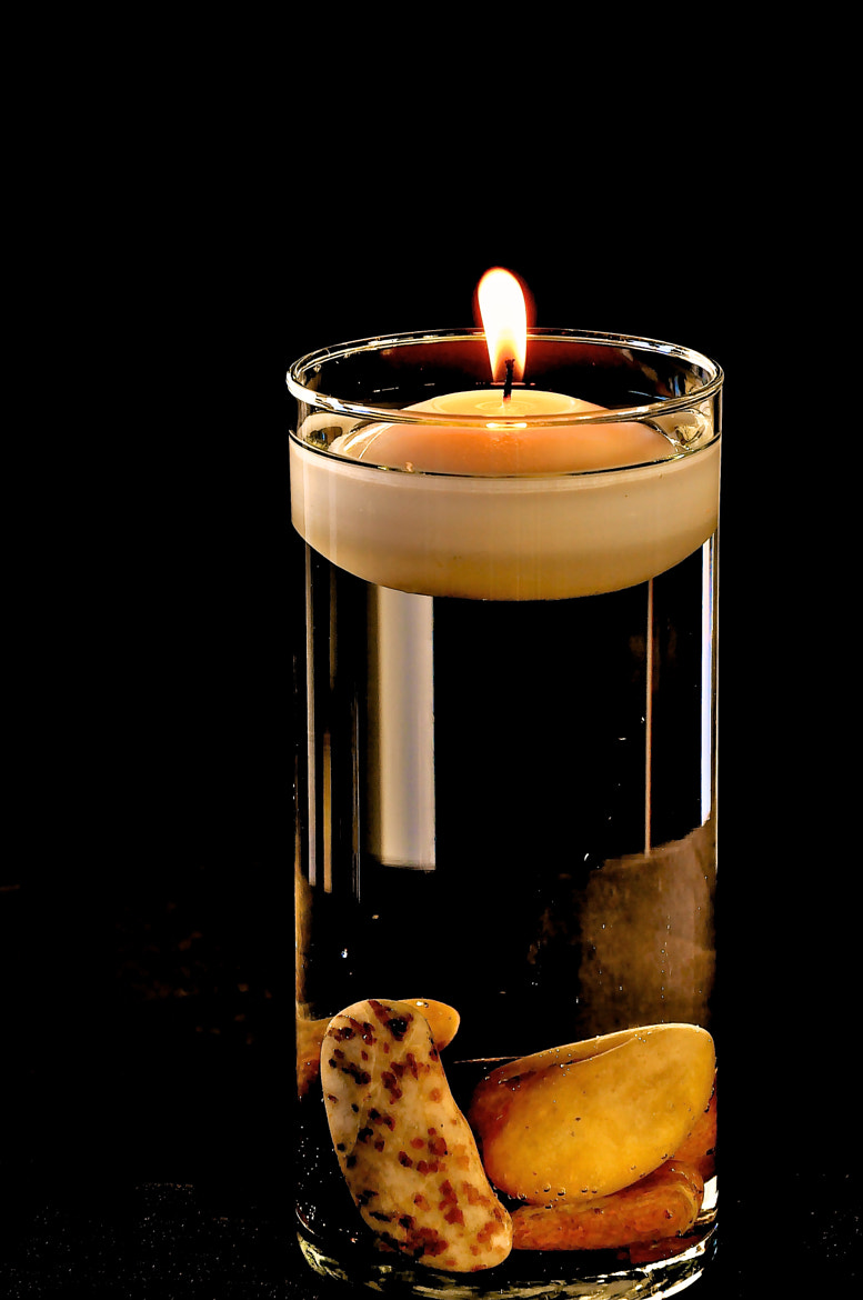 Photograph Burning Candle by Neems Photos on 500px