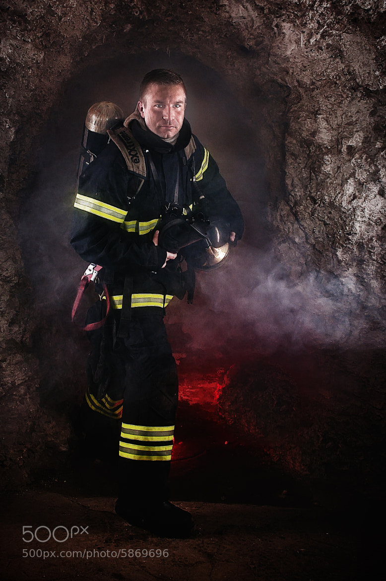 Photograph Firefighter by René Bang Photography on 500px