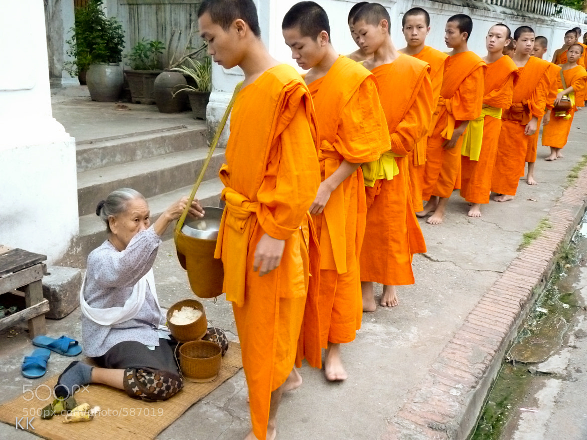 Photograph Monks Feeding by Kevin Kelly on 500px