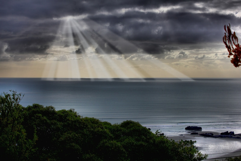 Photograph Crepuscula rays by James Toner on 500px