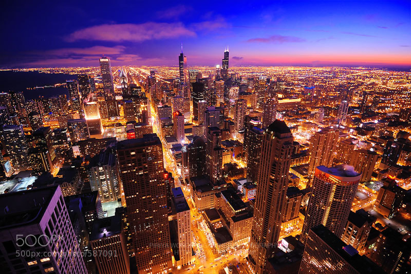 Photograph Chicagoscape by Piriya Wongkongkathep on 500px