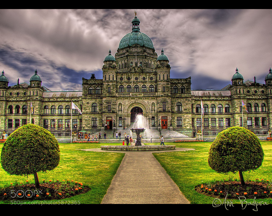 Photograph Parliament buildings in Victoria, BC, Canada by Ann Badjura on 500px