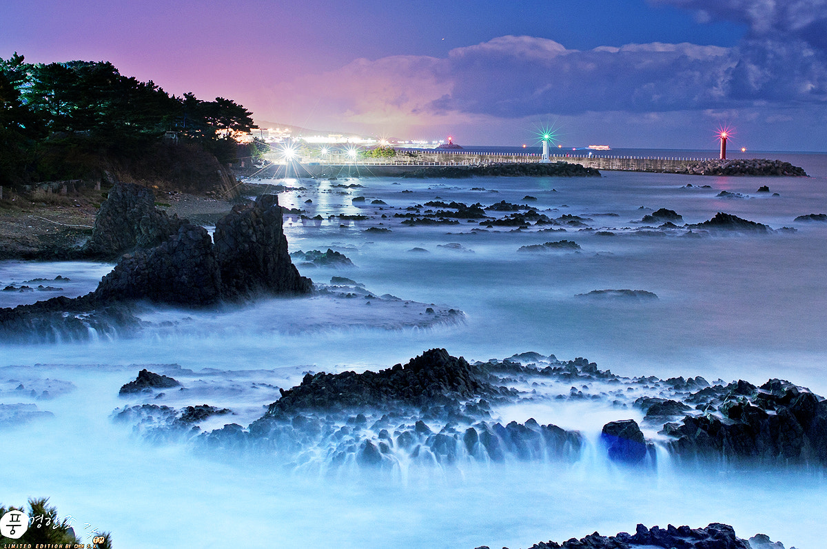 Photograph Lighthouse and Waves by sungkyu Choi on 500px