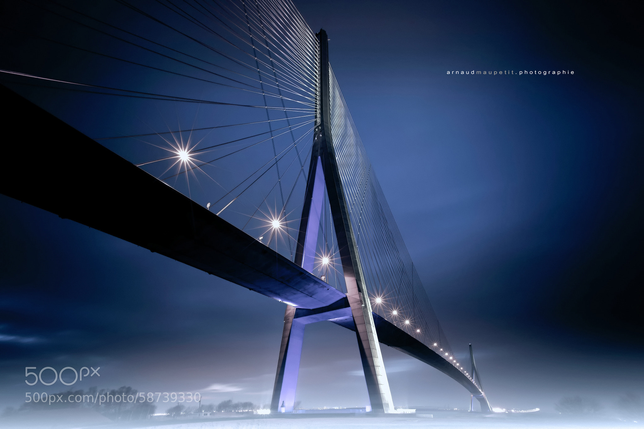 Photograph Pont de Normandie - FRANCE by Arnaud MAUPETIT on 500px